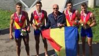 CANOTAJ: România, campioană mondială la juniori la patru rame masculin