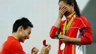 Inedit: Vicecampioana olimpică la sărituri în apă 3 m, cerută în căsătorie chiar pe podium