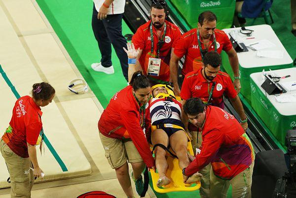 francez gimnastica accident jocuri olimpice