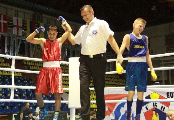 Eusebiu Tarzoman după victoria din sferturi