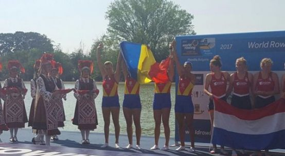 echipaj patru rame vicecampion mondial tineret