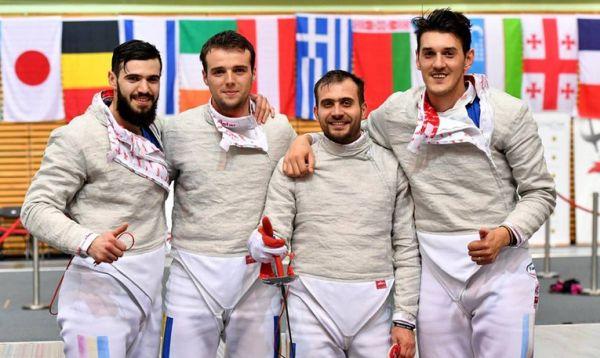 sabie romania echipa masculin